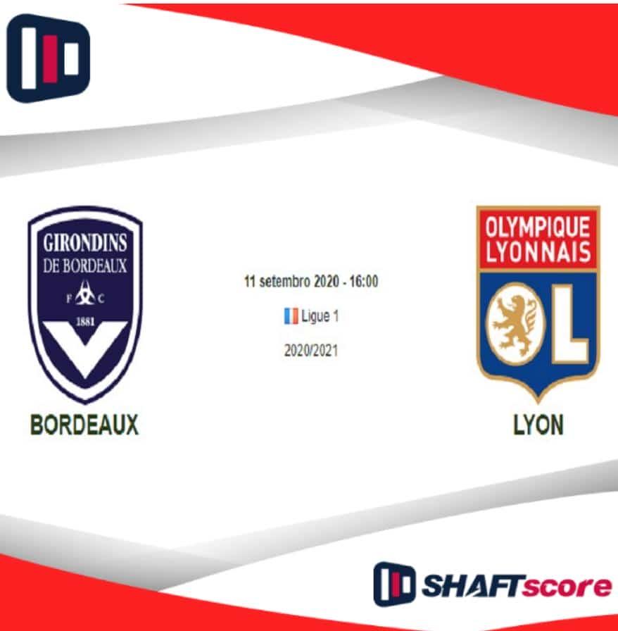 Bordeaux x Lyon: análise completa