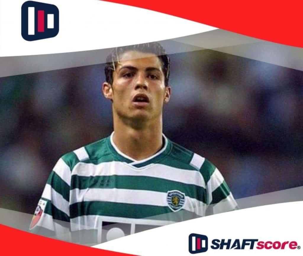 Foto de Cristiano Ronaldo, enquanto jogador do Sporting