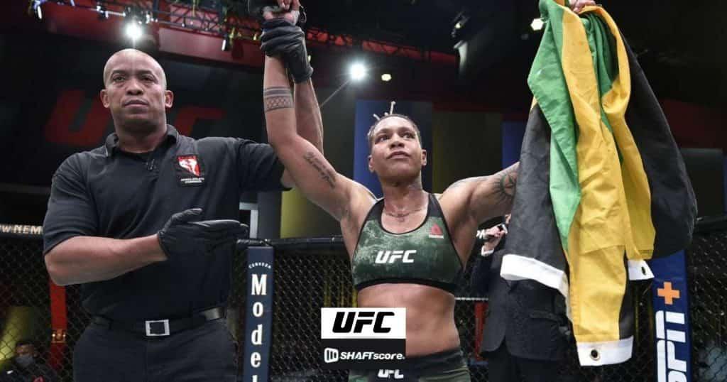 Shana Dobson vence Mariya Agapova no UFC Las Vegas 7