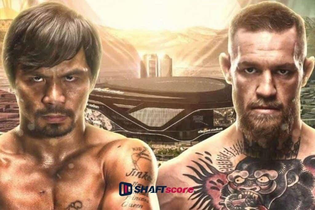 Luta entre Pacquiao e McGregor