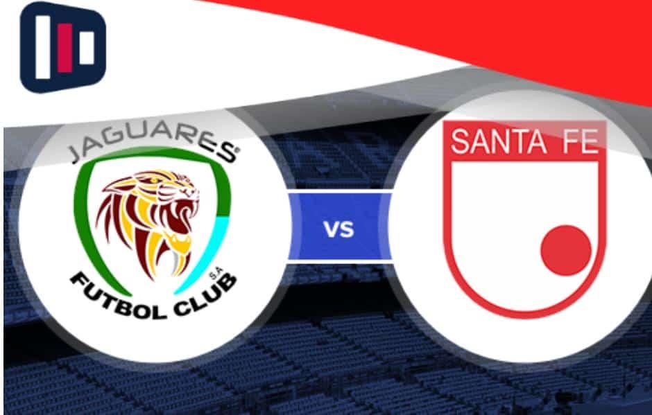 Confronto pela Liga colombiana: Jaguares x Santa Fé