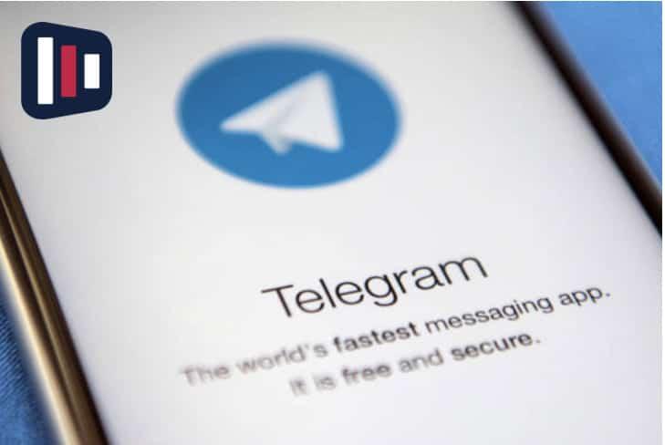 Logo tipo telegram