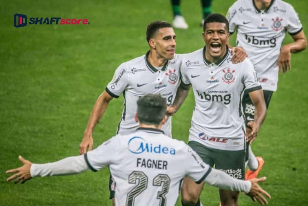 Jogadores do Corinthians comemoram gol - Rodrigo Coca/ Agência Corinthians