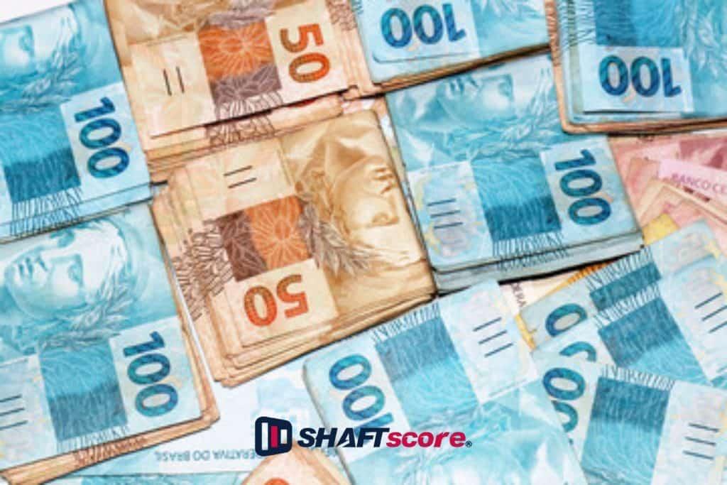 Imagem ilustrativa com notas de dinheiro - Desestatização