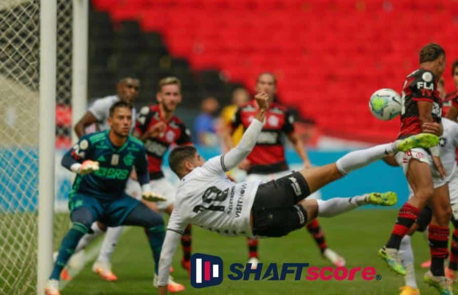 Lance do Brasileirão no Flamengo x Athletico-PR