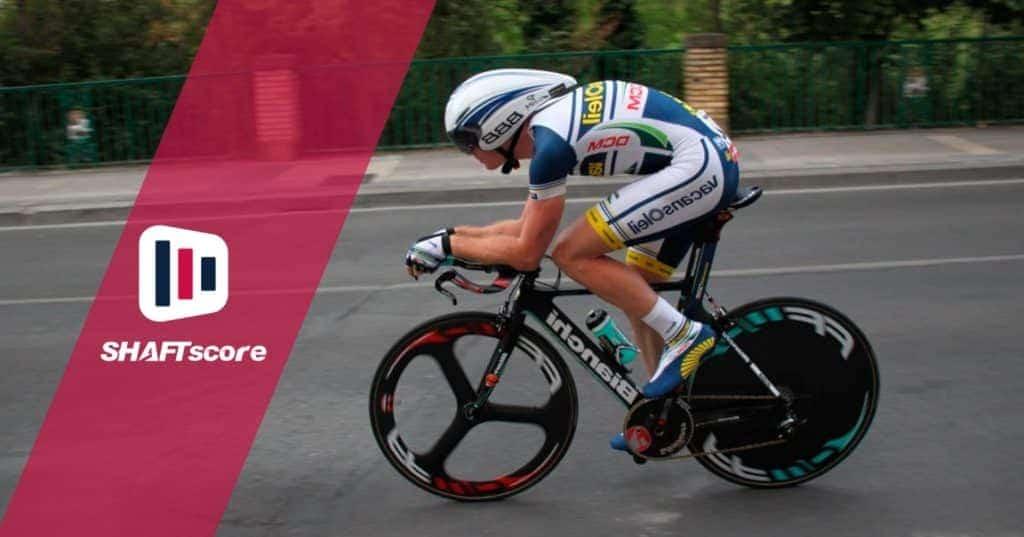 Competidor de uma prova de ciclismo de estrada