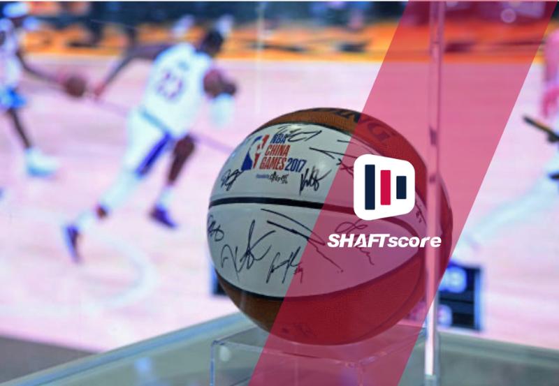Bola de basquete NBA outografada em 2007