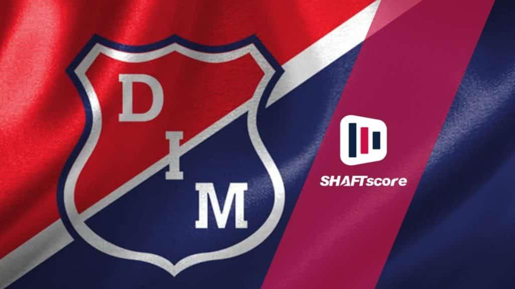 Escudo e bandeira do Independiente Medellín