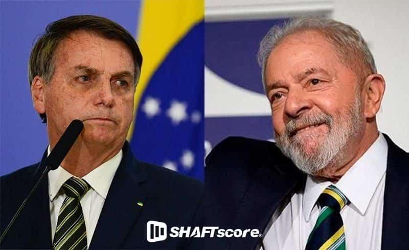 Fotos do Lula e Bolsonaro
