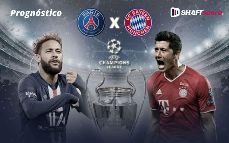 Neymar e lewandowski - PSG Bayern de Munique
