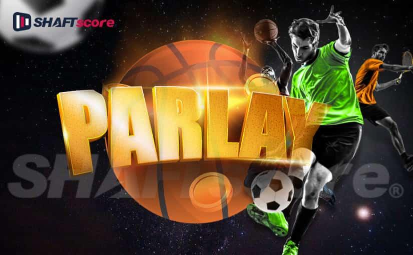 Jogador de futebol, bolas esportivas - Sistema parlay