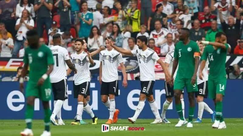 Arábia Saudita Alemanha olimpíadas.