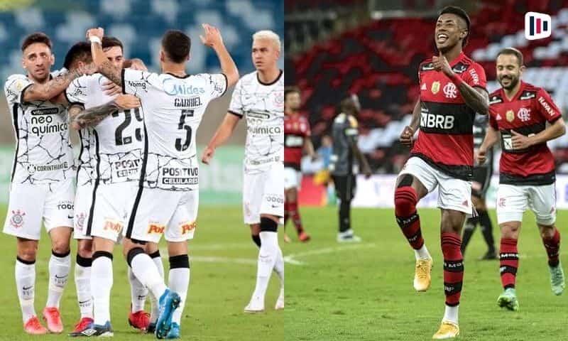 Palpite e prognóstico Corinthians x Flamengo, dicas de apostas esportivas online.