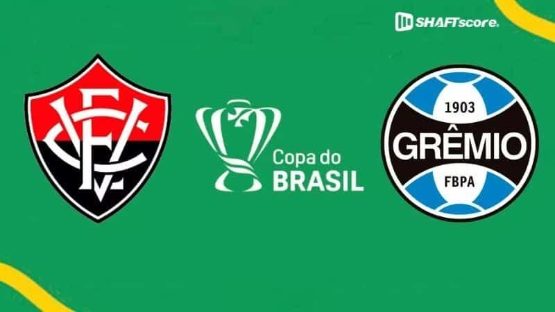 Palpite e prognóstico Vitória Grêmio, dicas de apostas esportivas online.