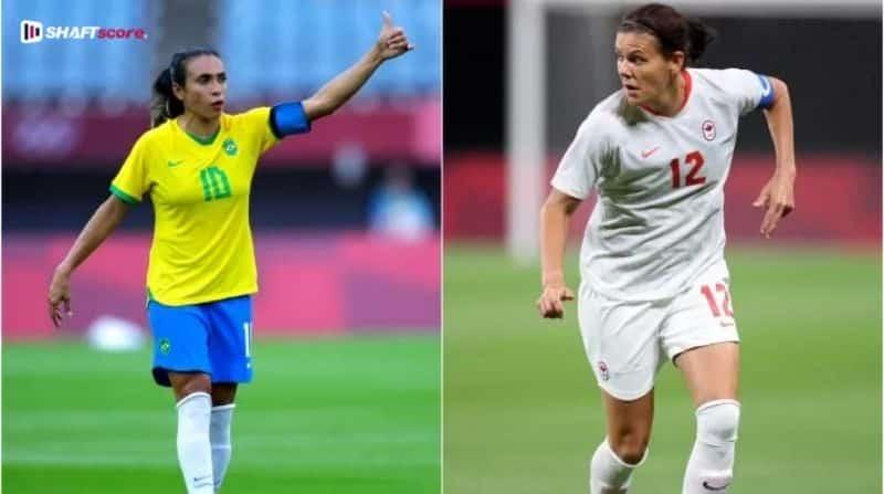 Palpite e prognóstico futebol feminino Canadá Brasil olimpíadas.