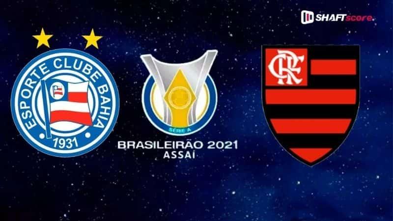 Palpite e prognóstico Bahia Flamengo, dicas de apostas esportivas online.
