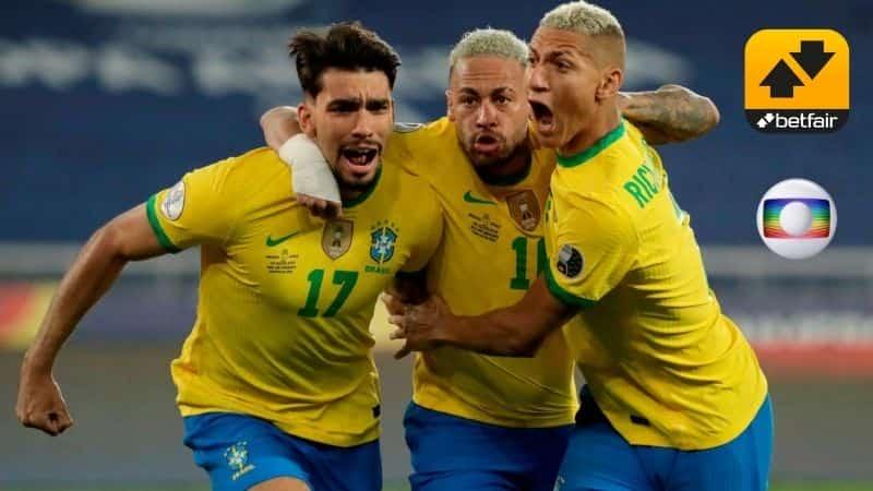 Jogadores da seleção- Parceria Betfair Globo.
