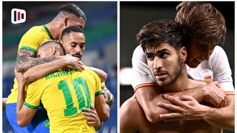Jogadores Brasil e Espanha olimpiadas. Palpite e prognóstico, dicas de apostas esportivas online.