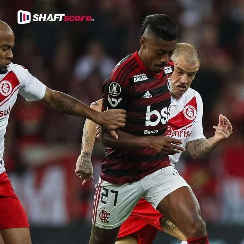 Palpite e prognóstico Flamengo Internacional, dicas de apostas esportivas online.