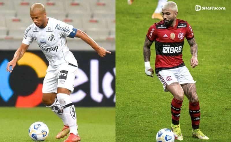 Palpite e prognóstico Santos Flamengo, dicas de apostas esportivas online.