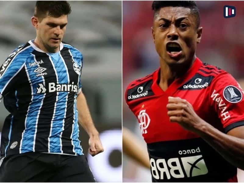 Palpite e prognóstico Grêmio Flamengo, dicas de apostas esportivas online.