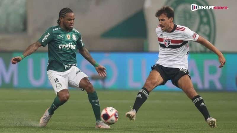 Palpite e prognóstico São Paulo Palmeiras, dicas de apostas esportivas online.