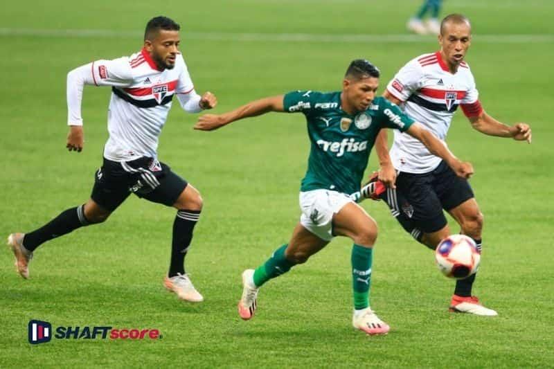 Palpite e prognóstico Palmeiras São Paulo Libertadores, dicas de apostas esportivas online.