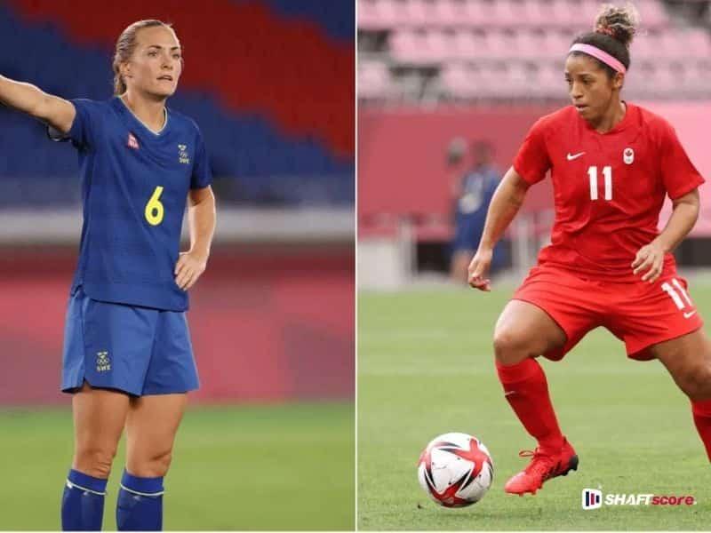 Jogadoras Suécia Canadá, palpite e prognóstico, dicas de apostas esportivas online.