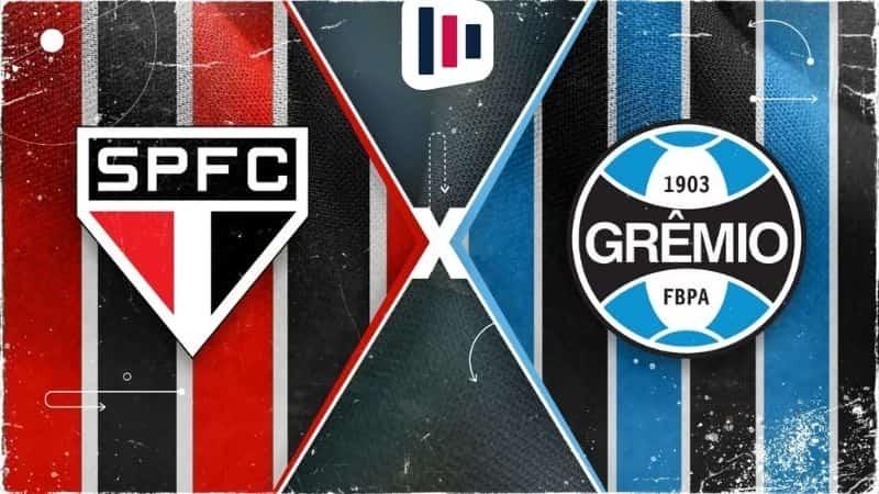 Palpite e prognóstico São Paulo Grêmio, dicas de apostas esportivas online.