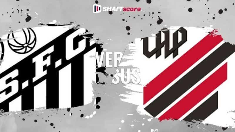 Palpite e prognóstico palpite Santos x Athletico Paranaense, dicas de apostas esportivas online.
