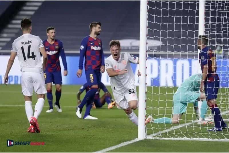 Palpite e prognóstico Barcelona Bayern Munique, dicas de apostas esportivas online.