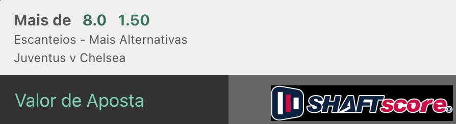 Bilhete pronto, palpite hoje Juventus Chelsea aposta estanteios bet365.
