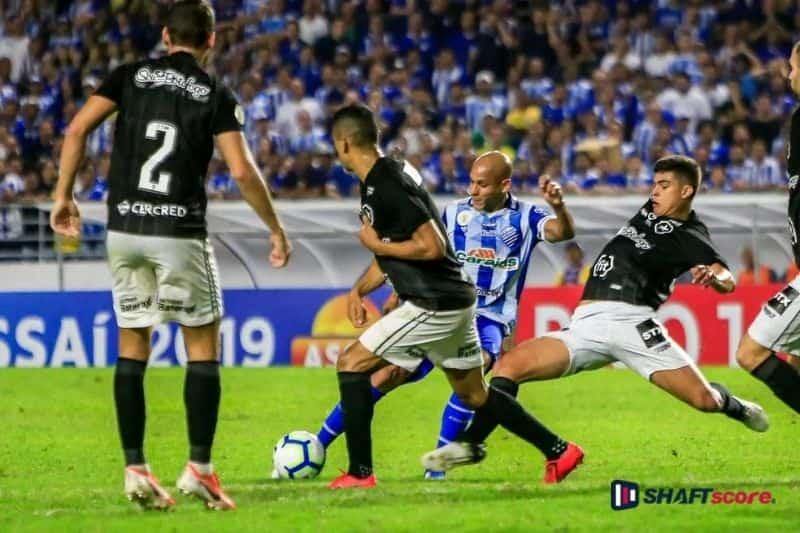 Palpite e prognostico CSA Botafogo, dicas de apostas esportivas online Bet365.