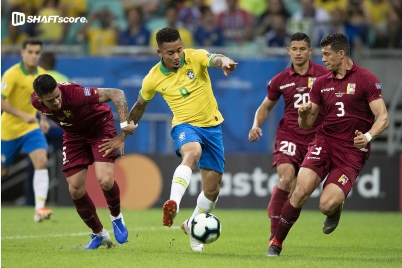 Palpite e prognóstico Venezuela Brasil