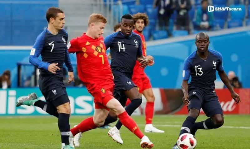 Palpite e prognóstico Bélgica França