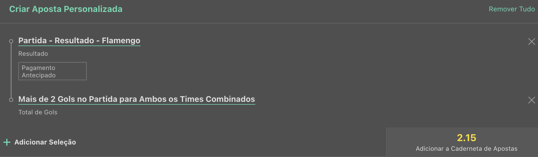 Bilhete pronto, palpite hoje, flamengo juventude aposta dupla personalidade bet365.