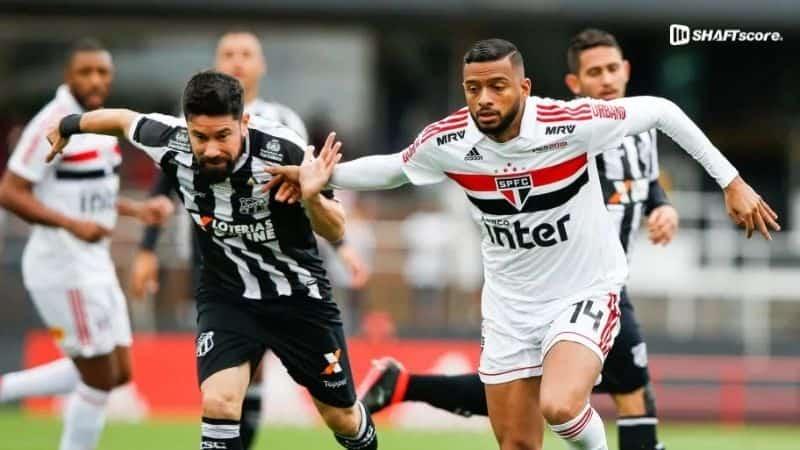 Palpite, prognóstico, dicas São Paulo Ceará aposta bet365.