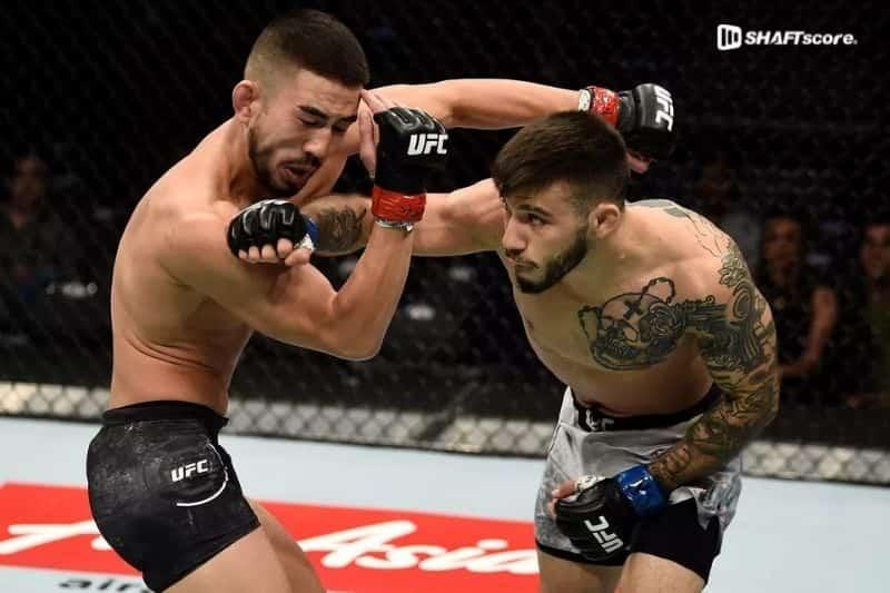Palpite UFC Tim Elliott x Matheus Nicolau bet365