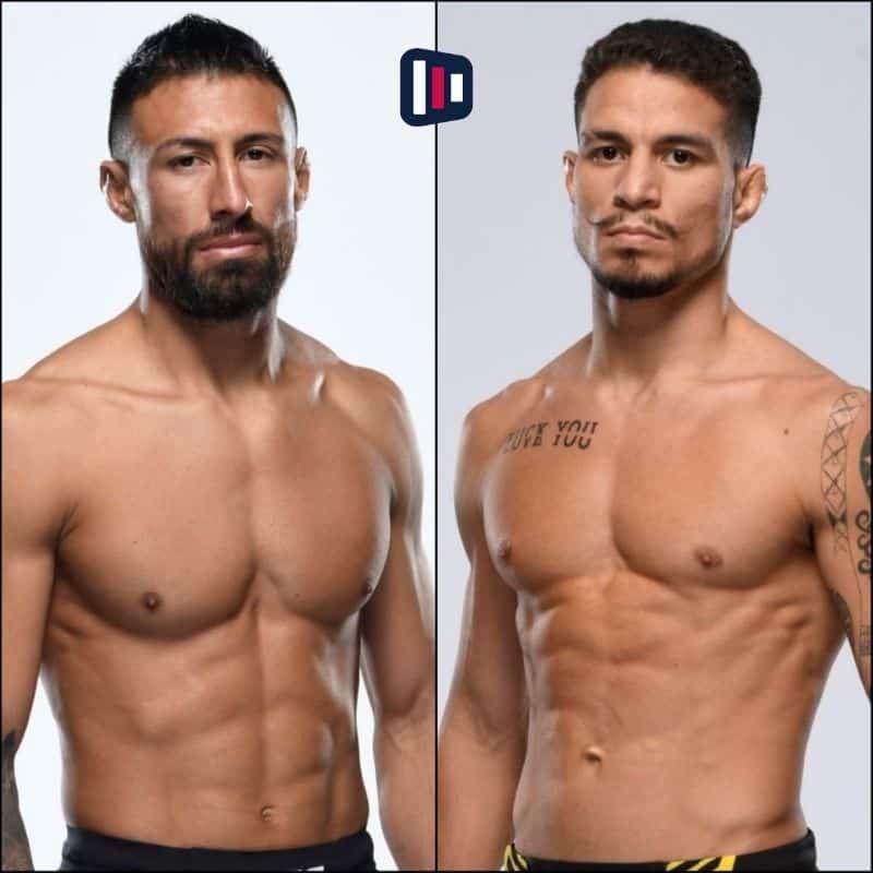 Palpite Chris Gutierrez x Felipe Colares UFC bet365
